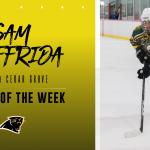 Congratulations Sam Giuffrida – TAP into V/CG Athlete of the Week