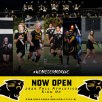 2020 Fall Athletic Participation Forms – NOW OPEN
