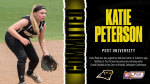 Katie Peterson signs NLI to Post University