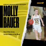 Congratulations Molly Bauer – News 12 NJ Athlete of the Week