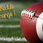 Scheduling Changes…Football & Volleyball