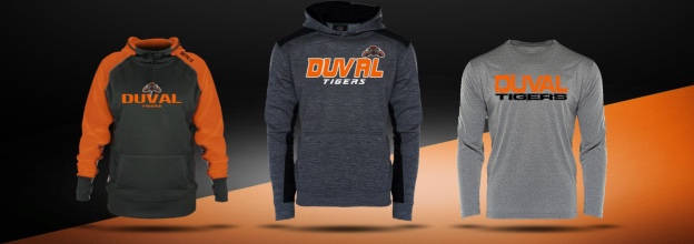DUVAL ATHLETICS FALL GEAR TEAM SHOPS NOW OPEN – CLOSES 9/6