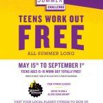 FREE Planet Fitness Summer Program
