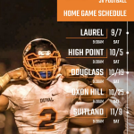 Revised Home Game Schedules