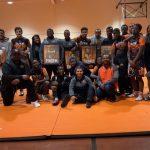 Varsity Wrestling beats Frederick Douglass 41 – 30