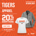 Tigers Apparel Sale