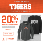 Save On All Tigers Gear This Season!