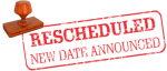 Tennis Match Rescheduled