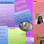 Spring Sports Countdown by Amanda Kleinschmidt