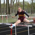 Girls Run at Selby Track Meet