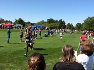 Varsity Boys Cross Country Team at Spartan Invitational 2012