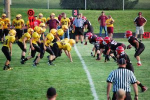 JV Football – Manchester vs Clinton 2013