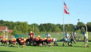 JV Football – Manchester vs Napoleon 2013