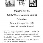 Fall and Winter Sports Camps