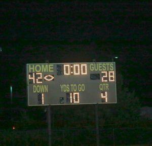 Varsity Football vs Hanover Sept 9