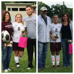 Girls soccer steps up on senior night