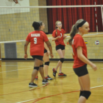 JH Volleyball vs St. Marys