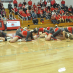 Cheerleaders Halftime Dance