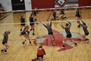 Varsity Volleyball vs Coldwater