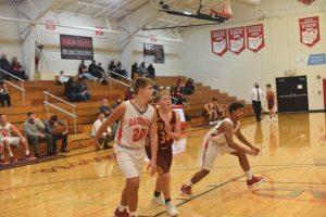 JV Boys Basketball vs New Bremen