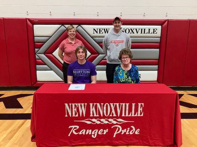 Patrick Covert signs to play at Bluffton