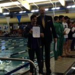 David Percle, Academic All-State Swimmer