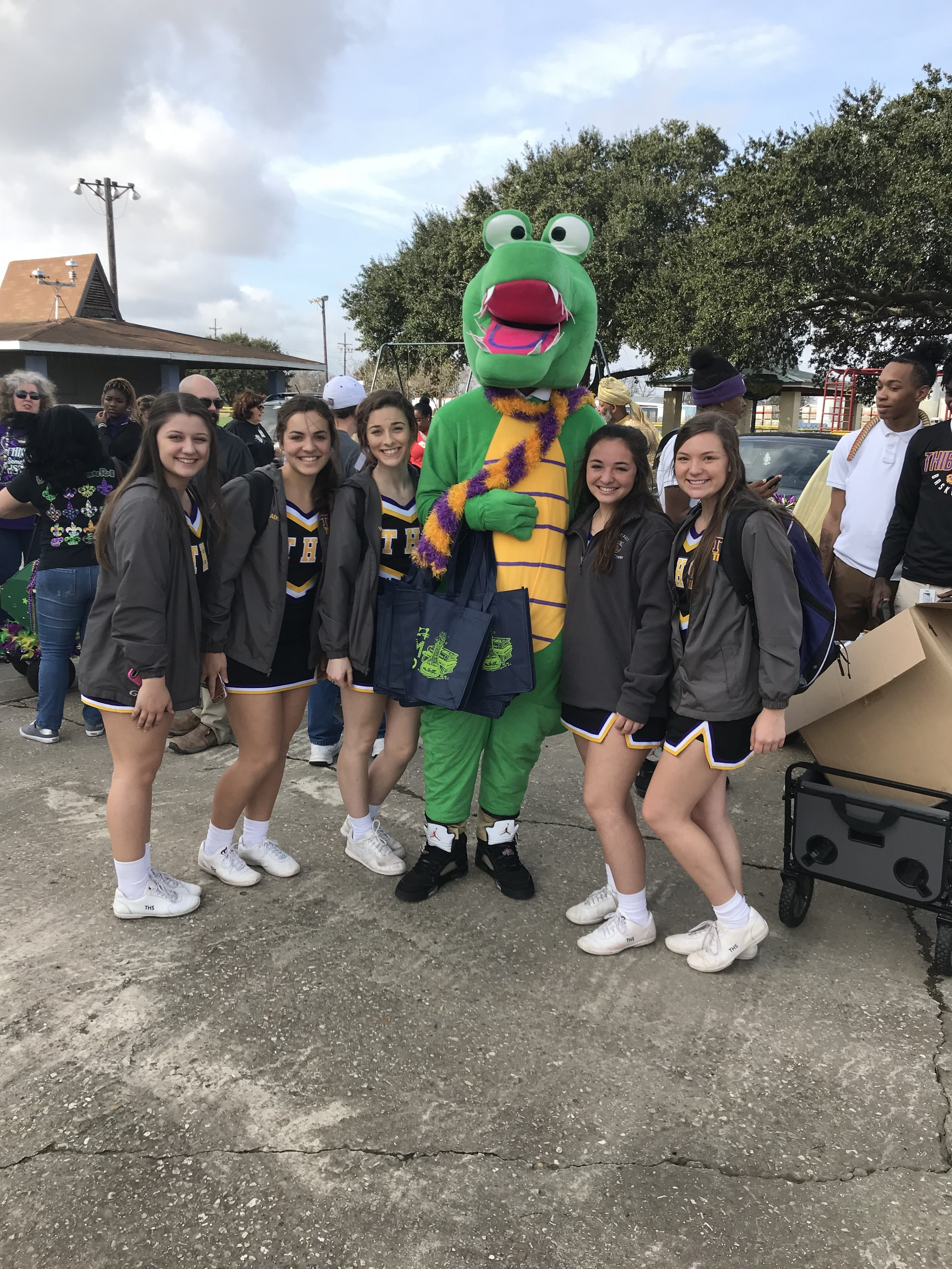 THS at Krewe of Bookworms Parade