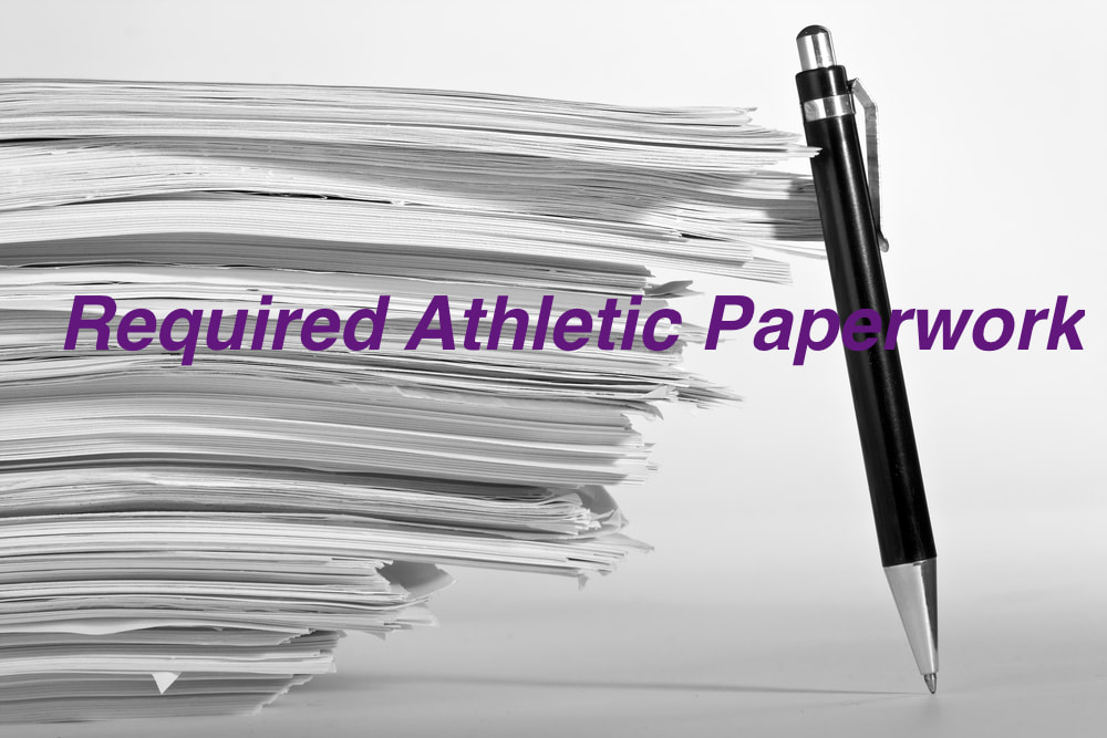 Thibodaux Athletic Dept. Eligibility Forms 2019-20