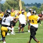 Coach Jimmy Johnson Interns with Steelers