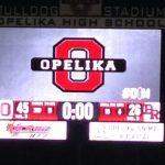 Opelika High School Varsity Football beat Benjamin Russell High School 46-26