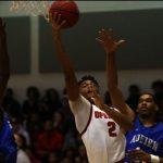 Opelika High School Boys Varsity Basketball beat Auburn High School 50-46