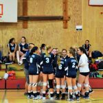 St. Mary's School Girls Varsity Volleyball falls to Glide High School 0-3