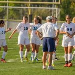 St. Mary's School Girls Varsity Soccer beat Lakeview High School 6-0