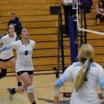 St. Mary's School Girls Varsity Volleyball beat Rogue River Senior High School 3-1
