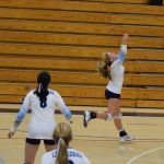 St. Mary's School Girls Varsity Volleyball beat Rogue River Senior High School 3-0