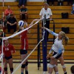 St. Mary's Varsity Volleyball Team Downs Illinois Valley on the Road 3-2
