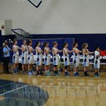 St. Mary's School Girls Varsity Basketball beat Rogue River Senior High School 41-28