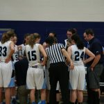 St. Mary's School Girls Varsity Basketball beat Cascade Christian High School 50-24