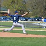 St. Mary's School Varsity Baseball beat Lakeview High School 8-1