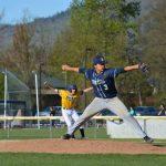 St. Mary's School Varsity Baseball beat Henley High School 5-2