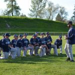 St. Mary's School Varsity Baseball beat Horizon Christian High School 7-0