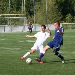 Grant scores twice in St. Mary's win