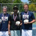 Crusader Boy's Tennis Advances to State