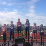 Three Crusaders Reach Podium on Day 1 at State Track