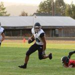 St. Mary's School Varsity Football beat Creswell High School 27-6
