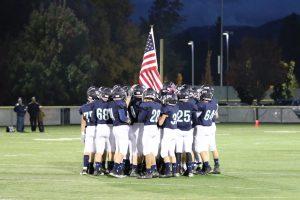 St. Mary's VS Cascade Christian 10-20-17 Varsity Football