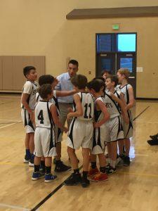6th Grade Boys Basketball vs Hanby