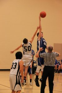 Boys MS Basketball 7th Grade against Hanby 11-20-17