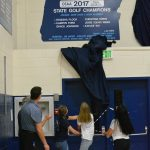 Girl's Golf and Baseball Championship Board Reveal