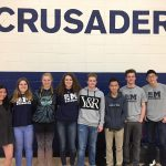 Crusader Swimmers Advance to State!